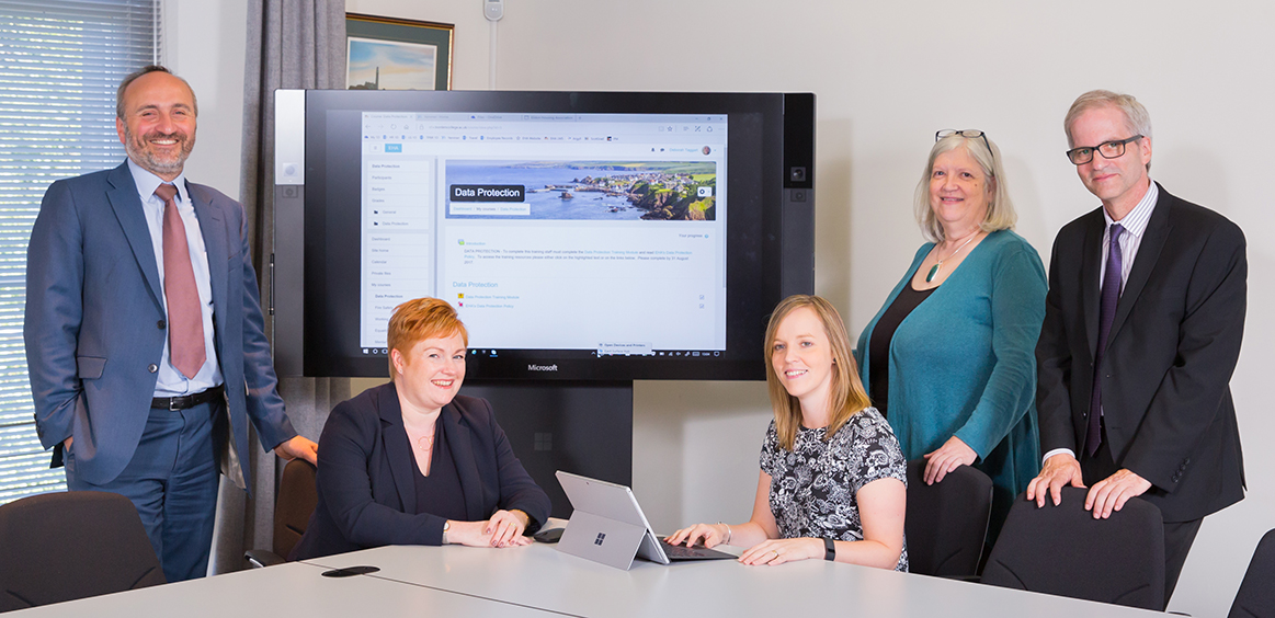 Eildon collaborates with Borders College to create new online learning portal image