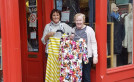 Lorraine boosts charity fashion show with donation of dresses image