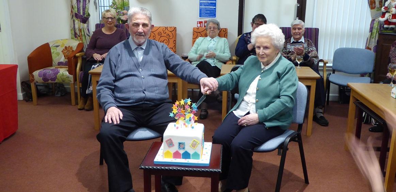 Housing association sheltered development marks milestone anniversary  image