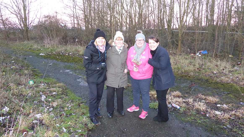 Funding gives green light for Lumphinnans community garden image