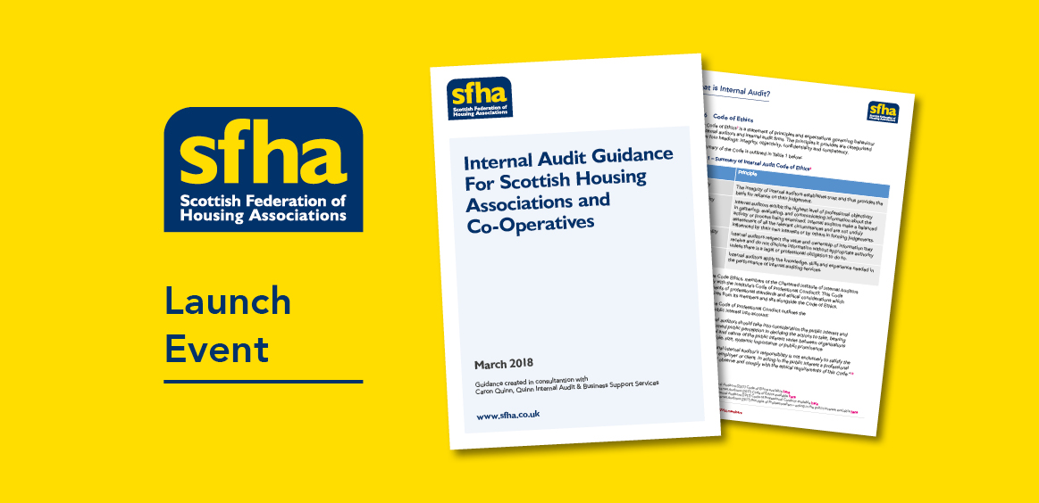 SFHA Internal Audit Guidance now available for members image