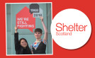 Young designers kick start Shelter Scotland's 50th anniversary image