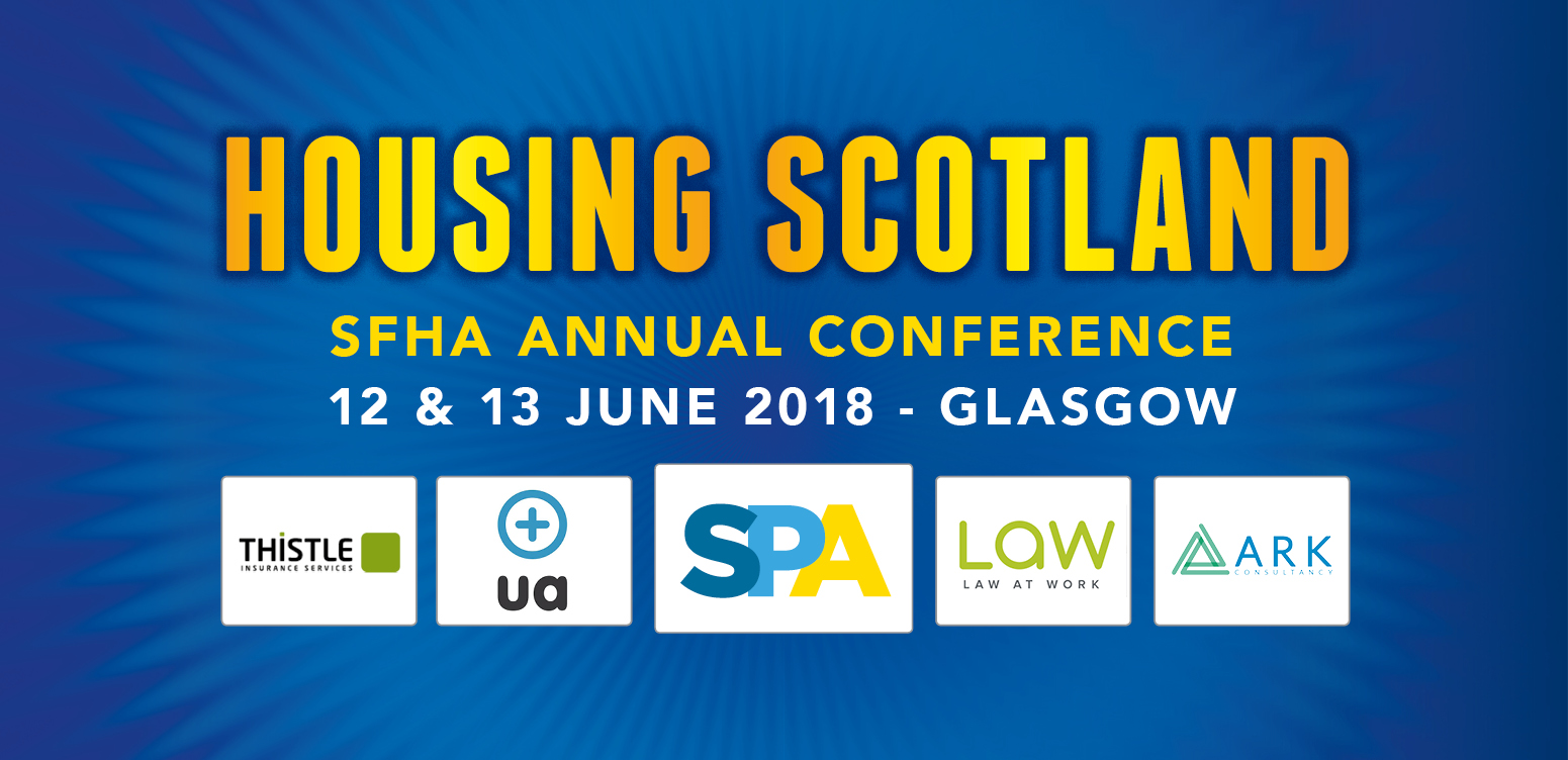 Last chance for early bird booking rate: #housingscotland18 image