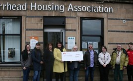 Barrhead Housing Association holds Participatory Budgeting event image