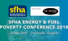 Main sponsor announced for SFHA Energy and Fuel Poverty Conference image