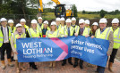 Work starts on new homes to transform Whitburn community image