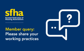 SFHA member query: EESSH and SHQS reporting