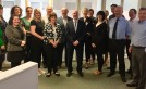 Minister visits SFHA for discussion on fuel poverty image