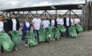Irvine Housing Association celebrates 25 years by teaming up with Irvine Clean Up Crew image