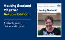 Housing Scotland Magazine - Autumn Edition launched image