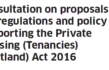 Consultation Private Housing Tenancies Scotland Act - logo image