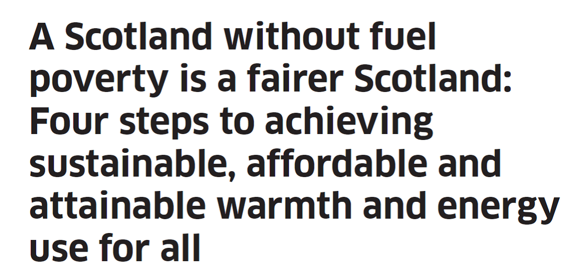 Publication of Two Major Fuel Poverty Reports  thumbnail