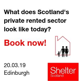 Shelter Scotland featured add