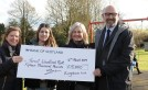 Kingdom's £15,000 donation boosts Cupar Play Park group image
