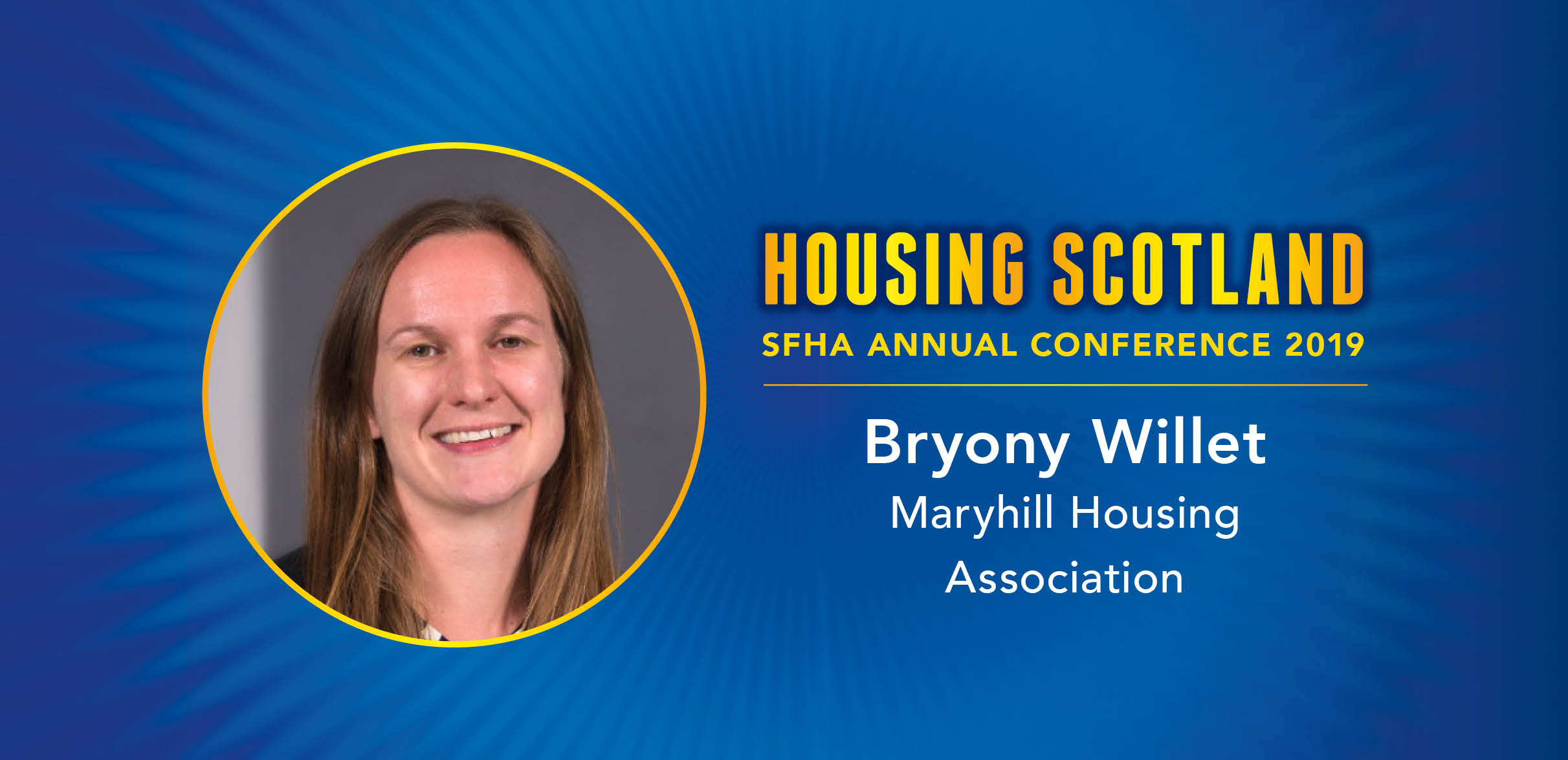 Meet the Housing Scotland 2019 speaker: Bryony Willet, Maryhill Housing Association image