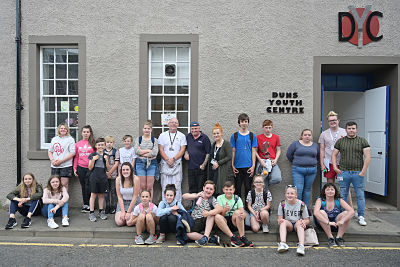 Duns Youth Centre gets a much-needed makeover image