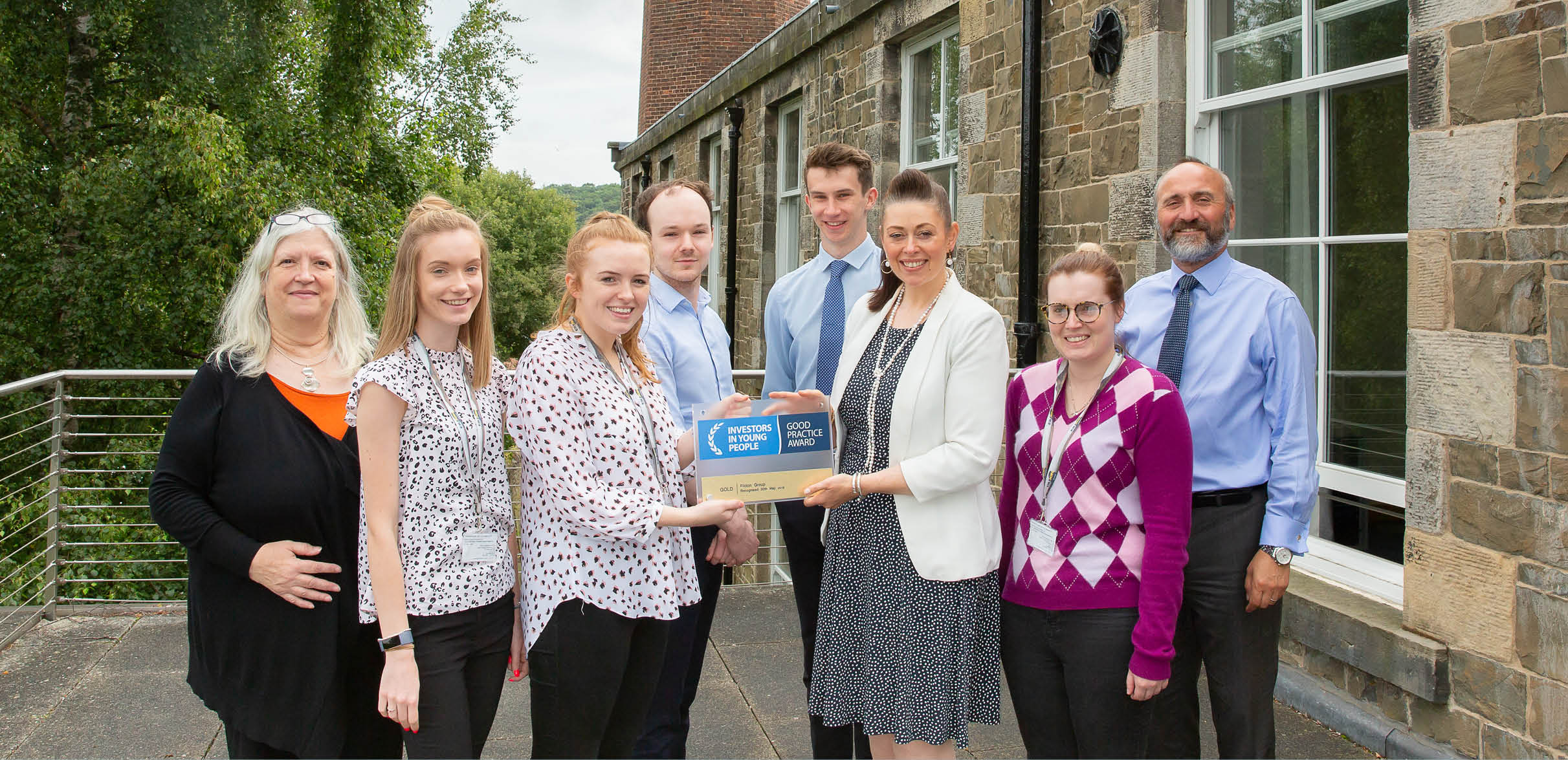 Eildon strikes double 'Gold' with Investors in People accreditations image
