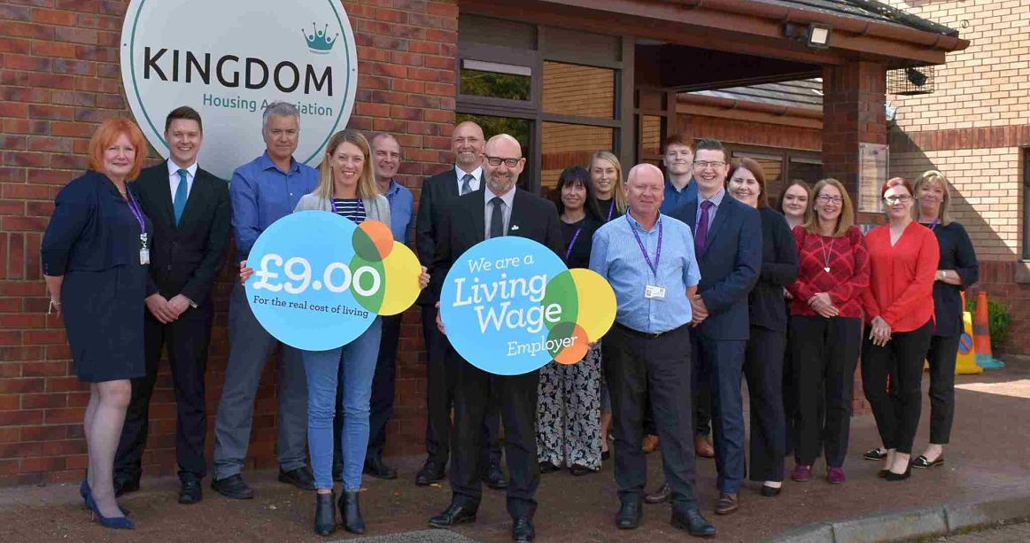 Kingdom Group celebrates commitment to real Living Wage  image