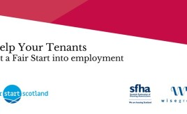 Free member event: support your tenants to get a Fair Start into employment image