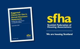 SFHA Guidance - Suggested Clauses for Use in Annual Assurance Statement image