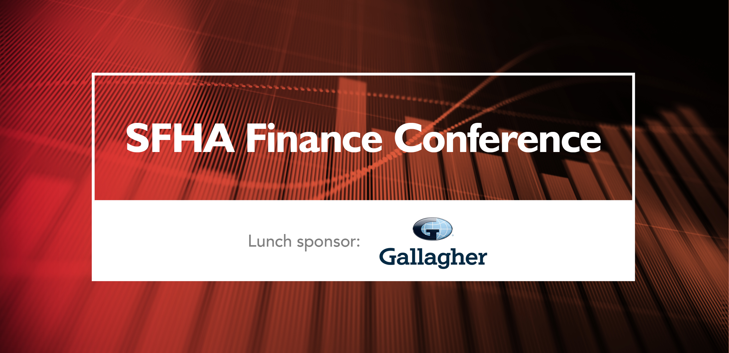 SFHA Finance Conference sponsor: Gallagher image