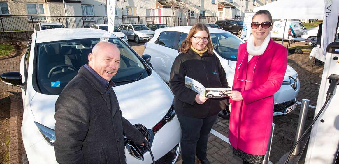 Elgin Car Club gears up thanks to Osprey Housing Moray  image