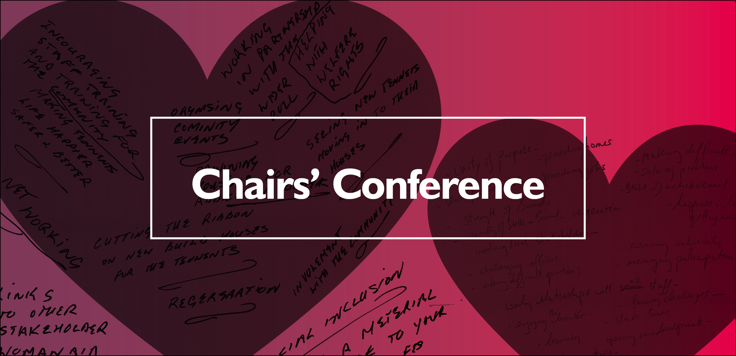 Chairs' Conference to discuss social value and inclusive living image