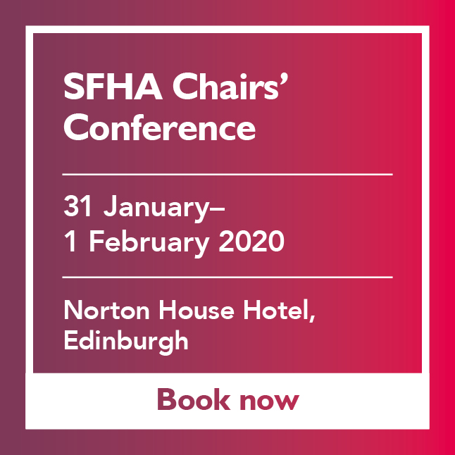 SFHA Chairs Conference Advert featured add