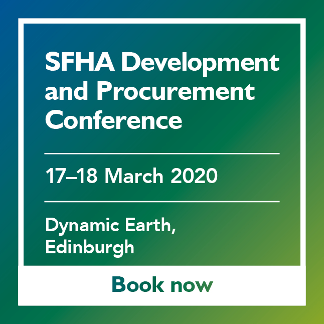 SFHA Development and Procurement Conference Advert featured add