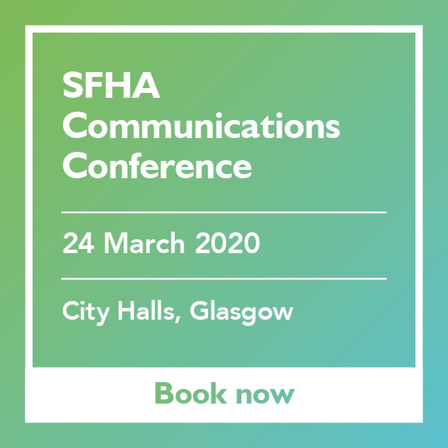 SFHA Communications Conference 2020 featured add