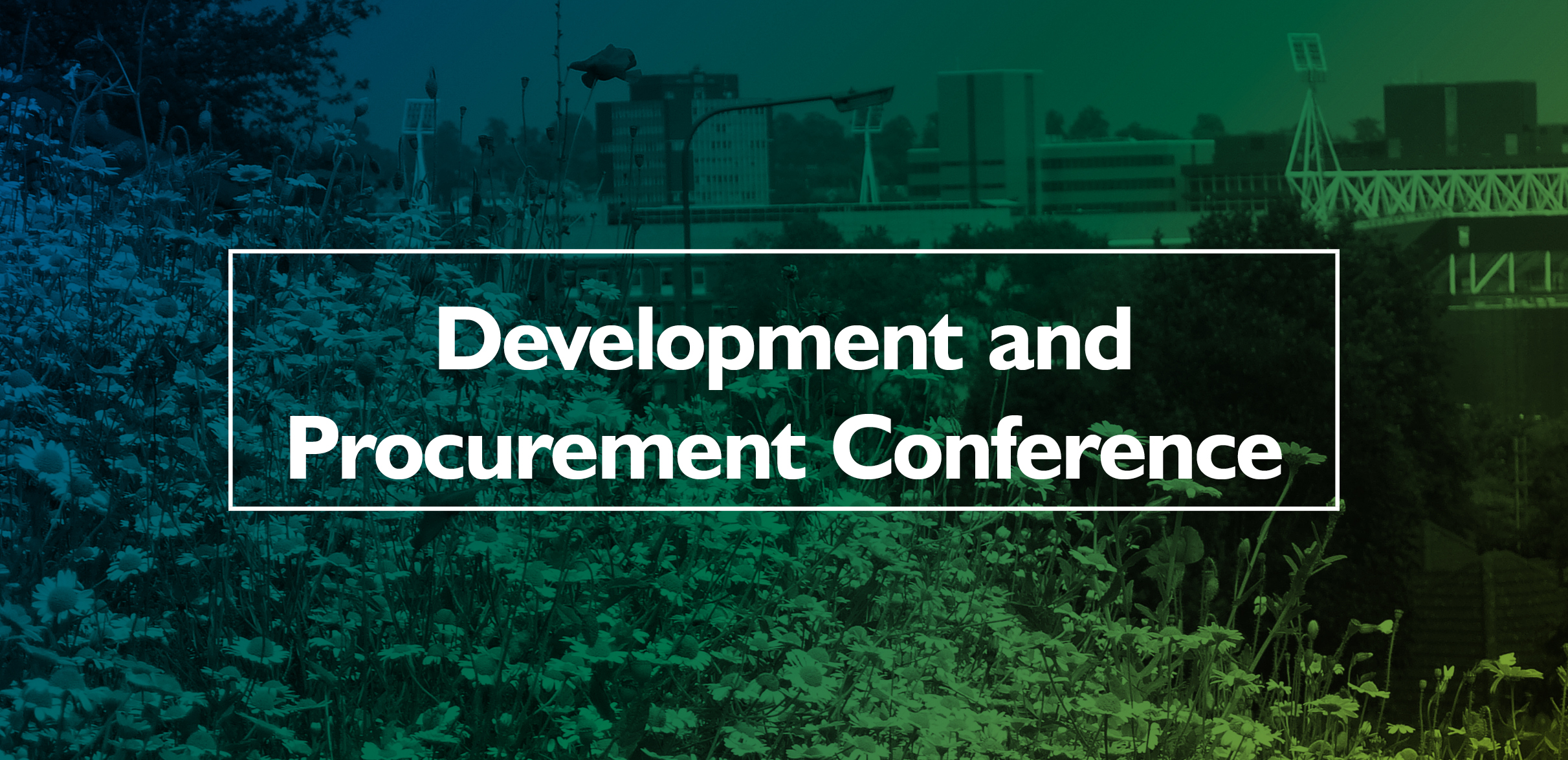 SFHA Development Conference to focus on social housing and green infrastructure image