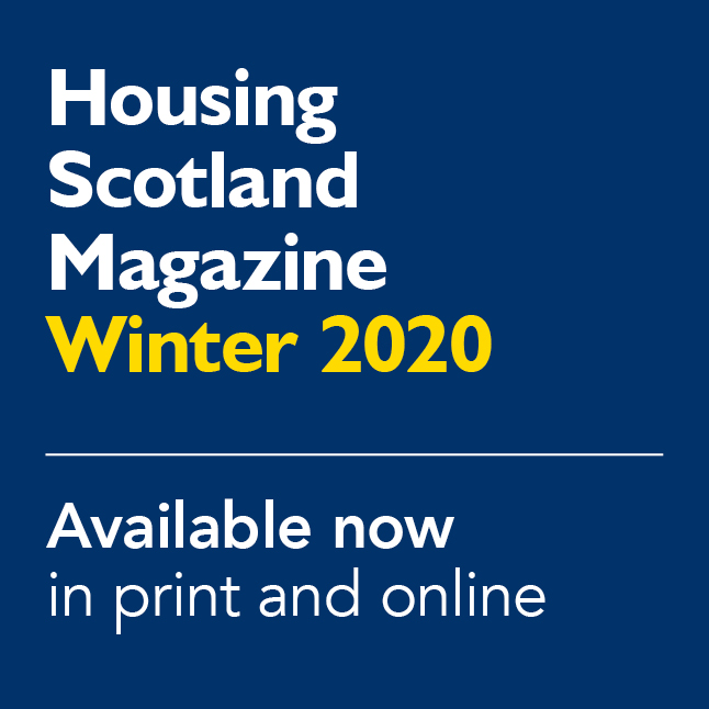 Housing Scotland Magazine Winter 2020 featured add