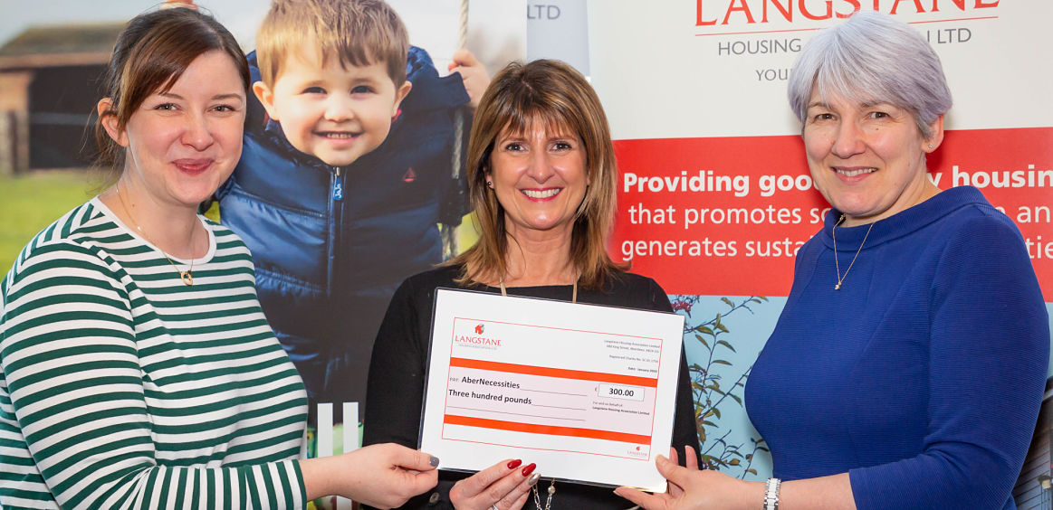 Langstane donates to local charity image