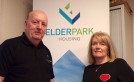 Double celebration as Elderpark staff mark 80 years' service image