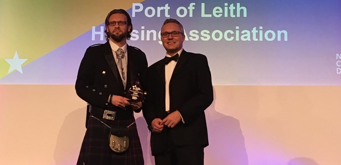 Port of Leith Housing Association is Housing Provider of the Year image