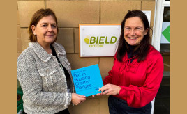 Bield logs into TEC in Housing image