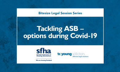 Tackling ASB – options during COVID-19 event image