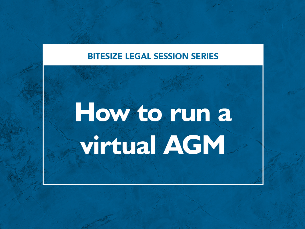 How to run a virtual AGM event image