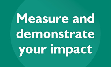Measuring and Demonstrating Your Impact event image