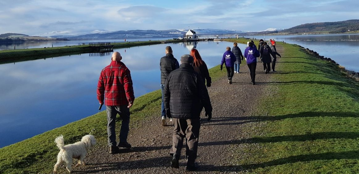 Clarity Walk takes a big step forward thanks to the Cairn Community Fund image