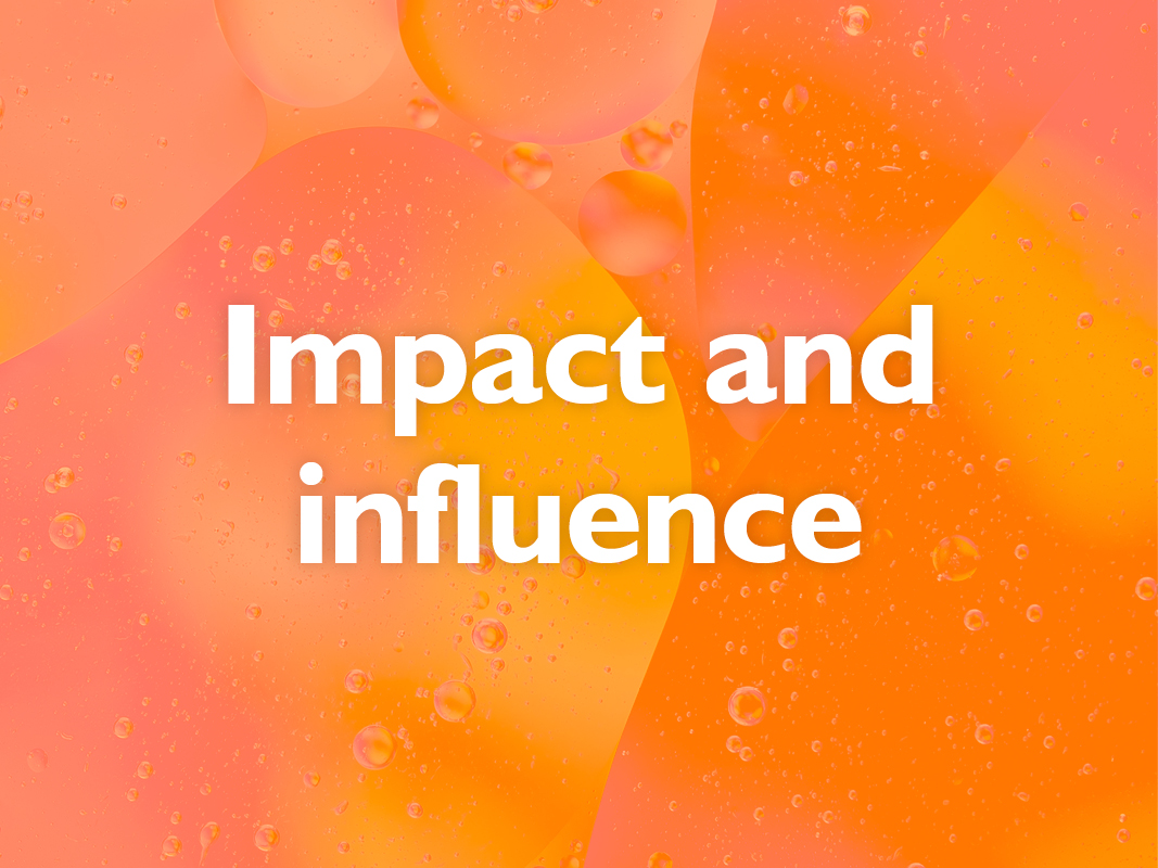 Impact and influence: Driving effective comms event image