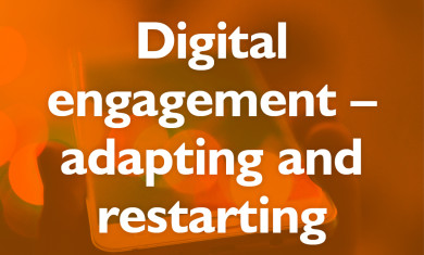 Digital Engagement - adapting and restarting event image