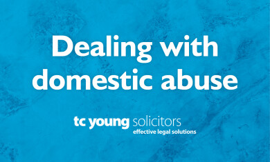 Dealing with domestic abuse event image