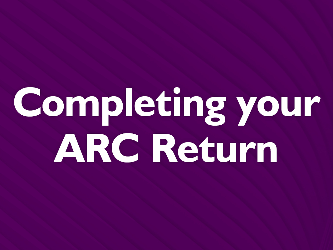 ARC Return what you need to know event image