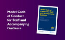 Model Code of Conduct for Staff and Accompanying Guidance (April 2021) image