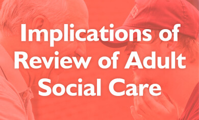 Implications of Review of Adult Social Care  event image