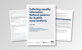 New guide released to support social landlords with equality data collection image