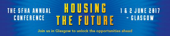SFHA Housing the future - half leaderboard image