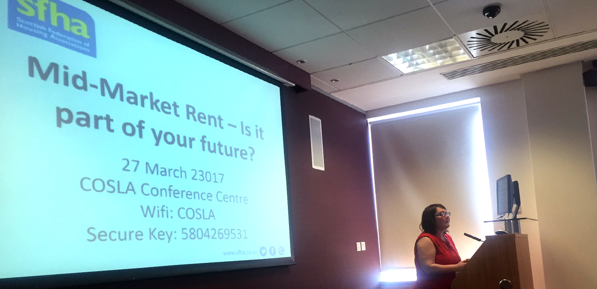 SFHA Mid-Market Rent conference proved to be a success thanks to excellent speakers and enthusiastic input from delegates image